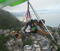 Voo de Asa Delta Vidigal Rio